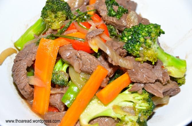 Classic Beef Stir-fry.